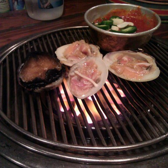 Grilled Shellfish @ Sik Gaek Restaurant