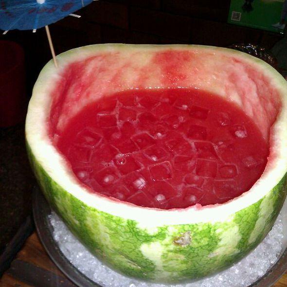 Watermelon Soju @ Sik Gaek Restaurant