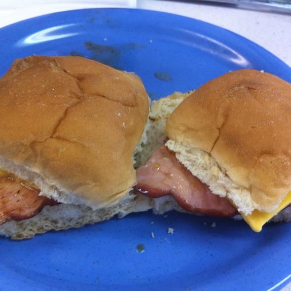 Ham & Cheese Sandwich @ Eddie's Sandwich Shop