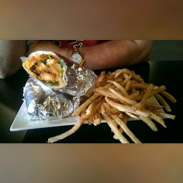 Buffalo Chicken Wrap @ 4th Street Bistro, Eldon, Mo