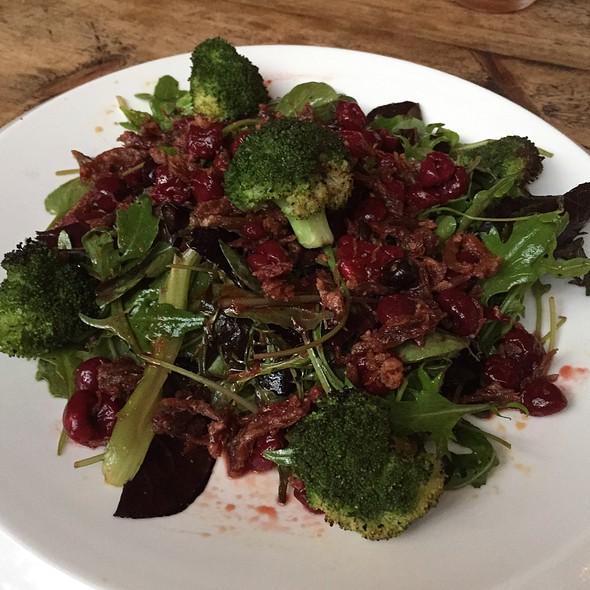 Charred Broccoli And Crispy Duck Salad