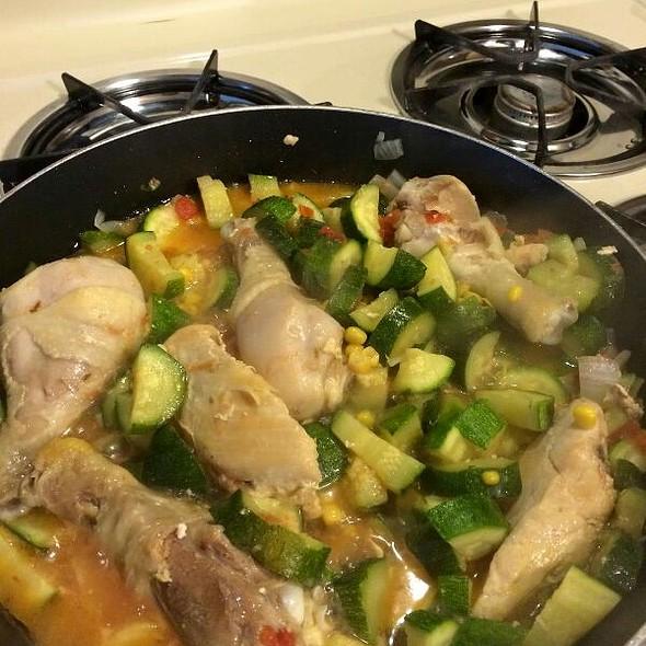 Pollo con Calabasas @ Home