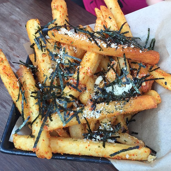 Shichimi Garlic Parmesan Fries @ Humble Potato