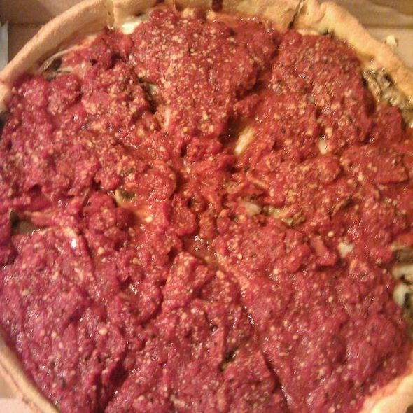 Deep Dish Pizza @ Pi Chesterfield
