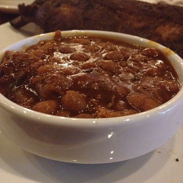 BBQ Baked Beans @ Slows Bar-b-q