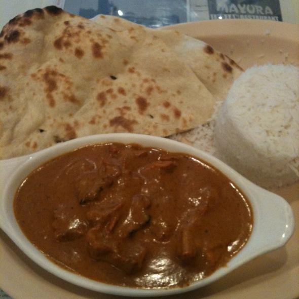 chicken tikka masala - Mayura Restaurant, Culver City, CA