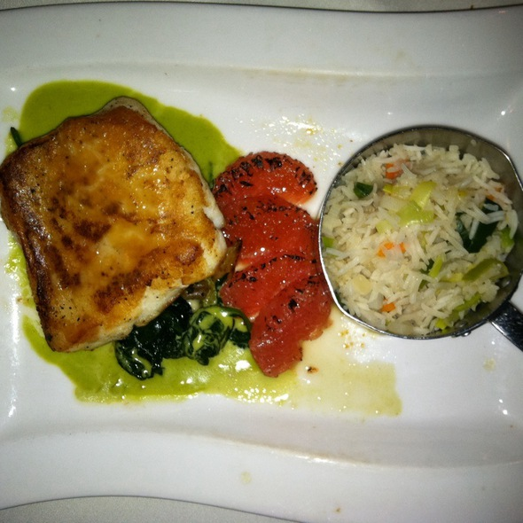 Glazed Sea Bass - The Park Steakhouse, Park Ridge, NJ