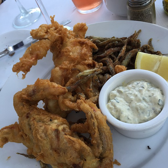 Soft Shell Crab And Tiny Fried Fish - Cipollini Trattoria and Bar, Manhasset, NY