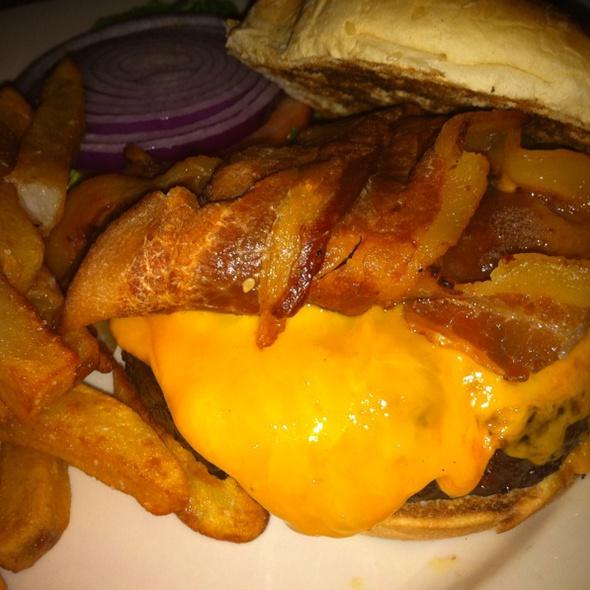 Burger - The Paris Cafe, New York, NY