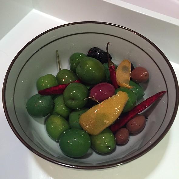 Warm Herbed Olives