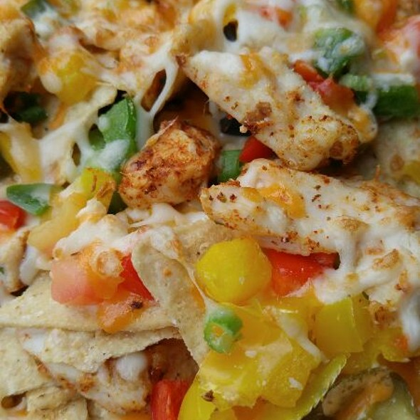 Chicken Nachos @ Spyce Lounge