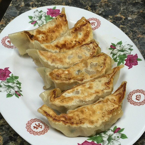 Pan fried Gyoza