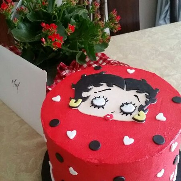 Chocolate Betty Boop Cake