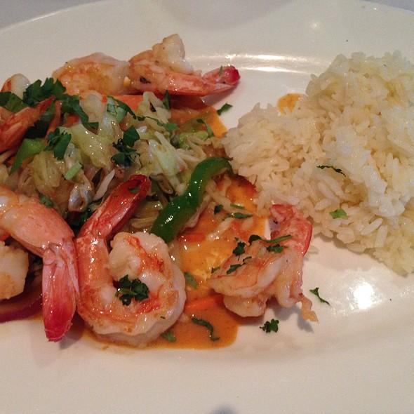 Fried Shrimp And Jasmine Rice - Carrol's Creek Cafe, Annapolis, MD