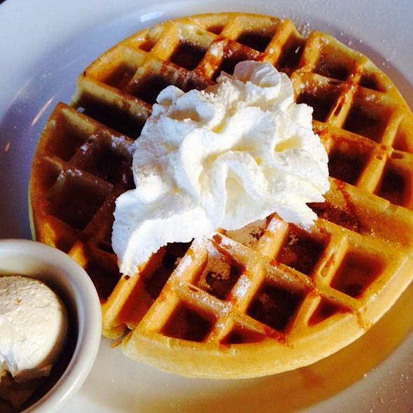 Chai Waffle