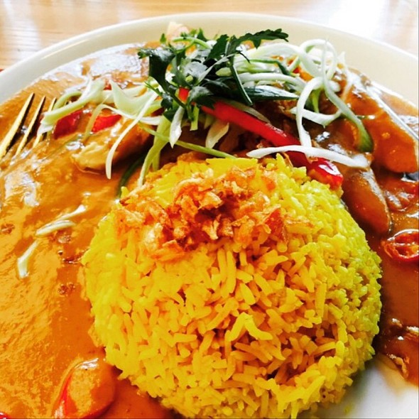 Chicken Curry with Turmeric Rice @ Cha Cha