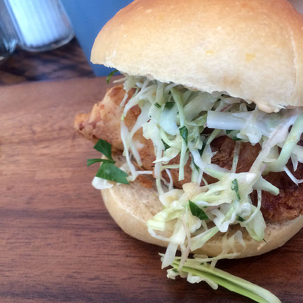 Fried Chicken Sandwich @ Willa Jean