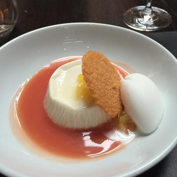Coconut Panna Cotta - Scarpetta, New York, NY