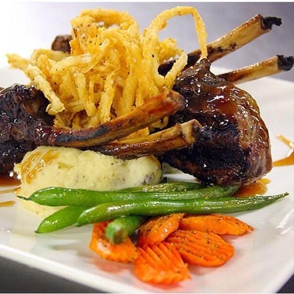 Lamb Chops - Y.O. Ranch Steakhouse, Dallas, TX
