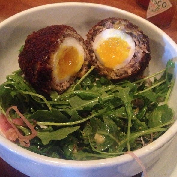 Scotch Egg @ There Floyds Brewery & Brew Pub