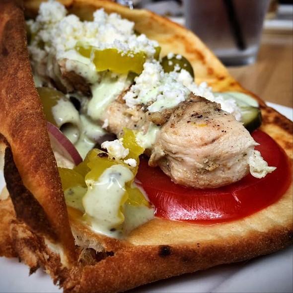 Chicken Souvlaki @ Nosh Kitchen Bar