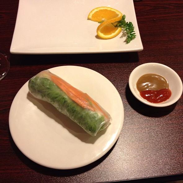 Tofu Rice Paper Rolls @ Doan's vietnamese restaurant