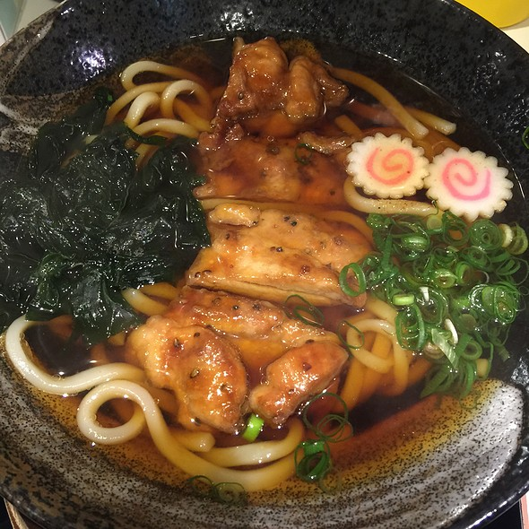 Teriyaki Chicken Udon