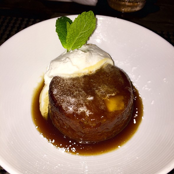 Mango Toffee Bread Pudding @ Michael's Genuine