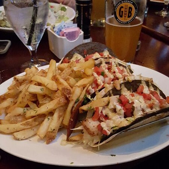 Gordon biersch menu louisville ky foodspotting for Cajun fish tacos