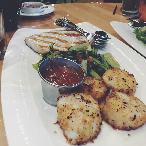 Swordfish Steak And Scallops @ Sapori Italian Restaurant