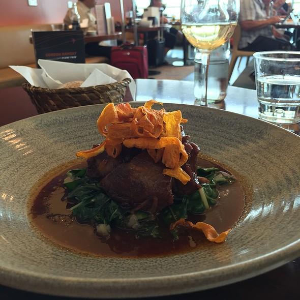 Braised Lamb @ Gordon Ramsay Plane Food