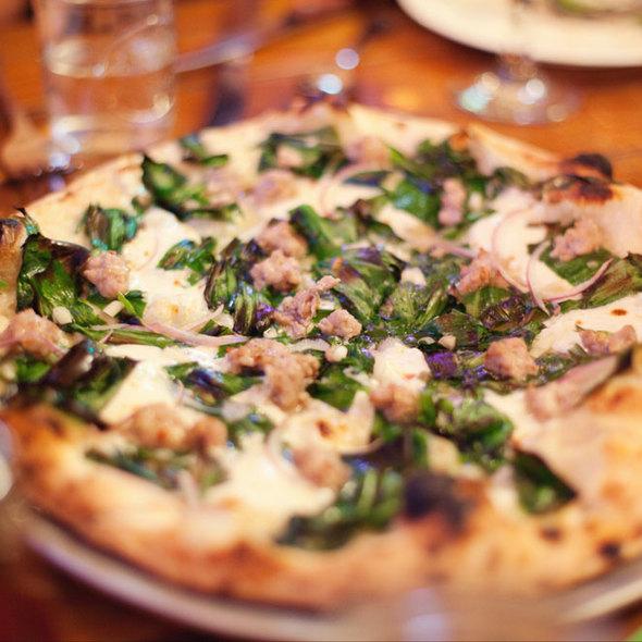 The Wanderlust Pizza @ Roberta's