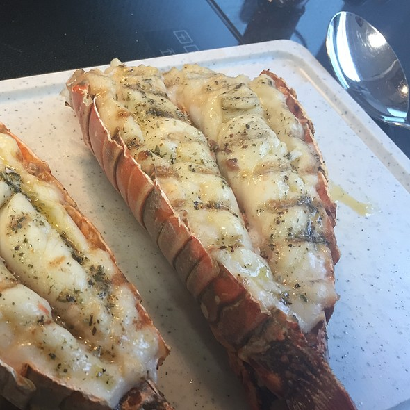 grilled lobster @ Second Home
