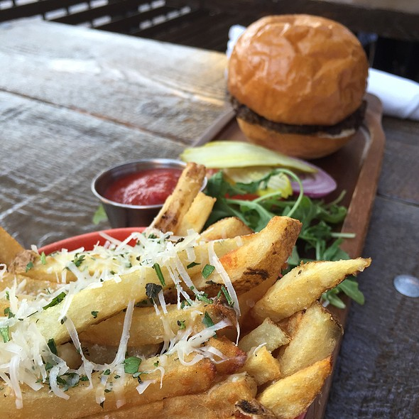 Lamb Burger - Red Feather Lounge, Boise, ID