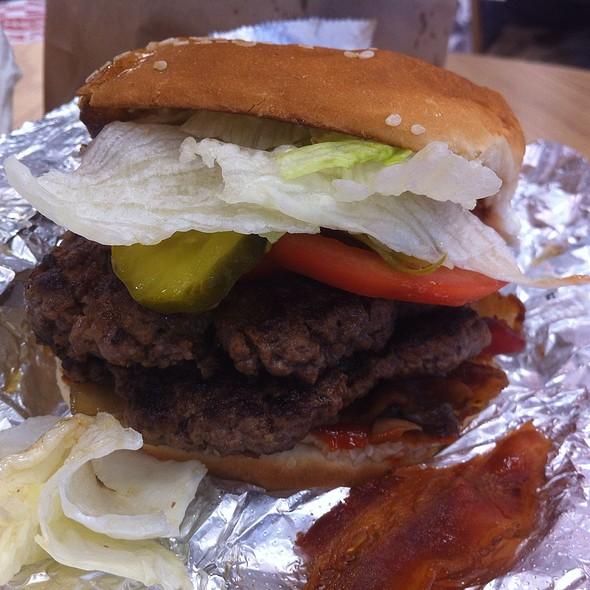 Bacon burger @ Five Guys Burgers + Fries