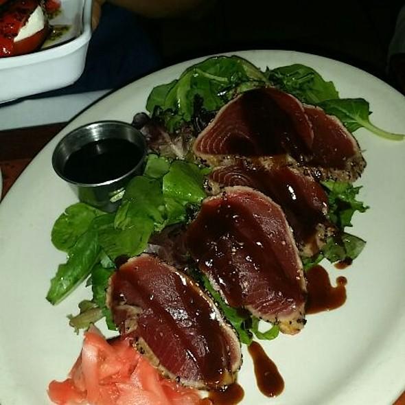 Pepper Seared Tuna Sashimi @ Limani Seafood Grill
