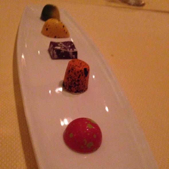 Chocolates - Mark's American Cuisine, Houston, TX