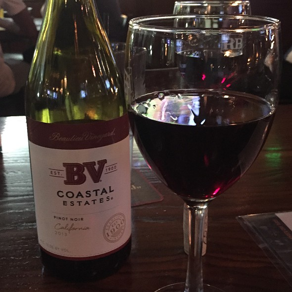 Bv Coastal Estates Pinot Noir - Rock Bottom Brewery Restaurant - Denver, Denver, CO
