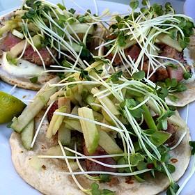 Seared Ahi Fish Tacos