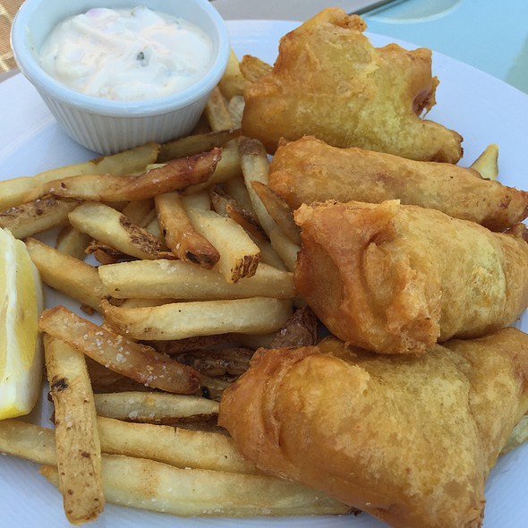 Fish and Chips - Marisol at the Cliffs Resort, Pismo Beach, CA