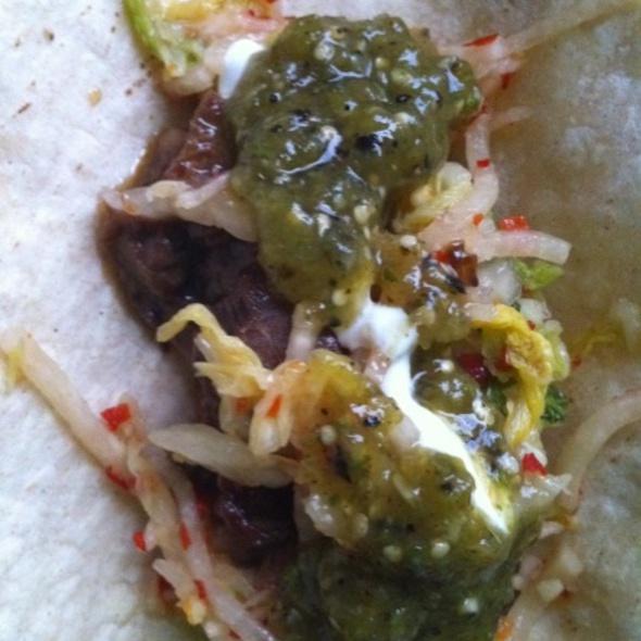 Coppelia Kimchi Taco @ LUCKYRICE