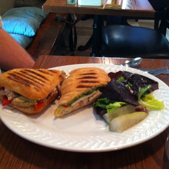 Pesto Chicken Panini @ Tomato Pie Cafe