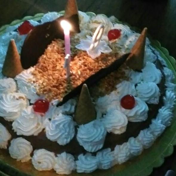 Gelato Birthday Cake