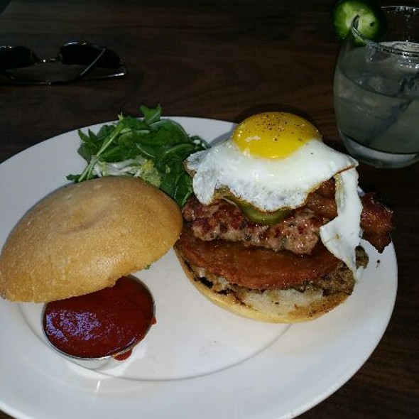 Bluestem Brunch Burger