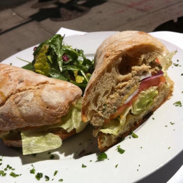 Nicoise Sandwich @ La Félix