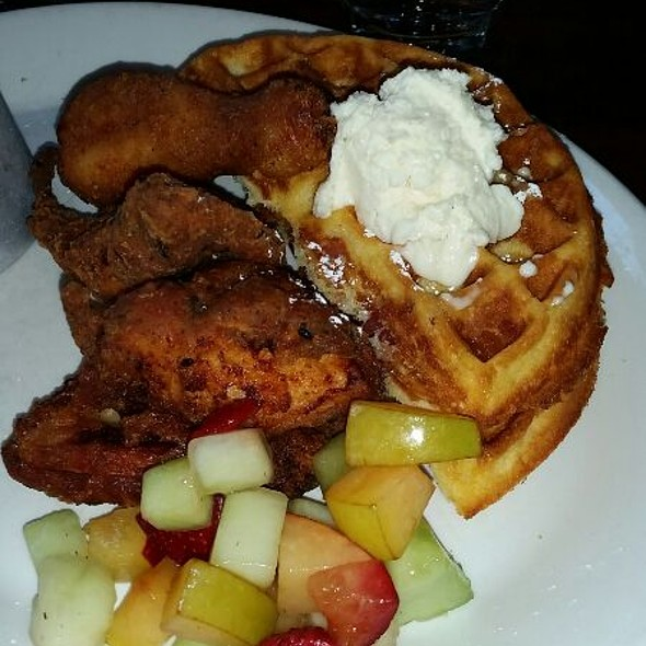 Chicken & Bacon Waffles