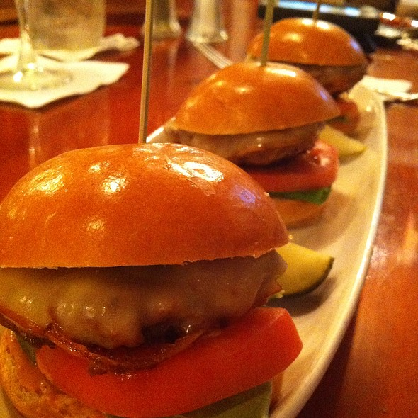 Triple Pork Sliders @ The Bordley House Grille at Broad Run