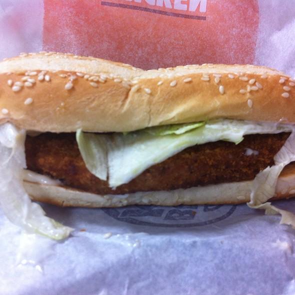 Original Chicken Sandwich @ Burger King