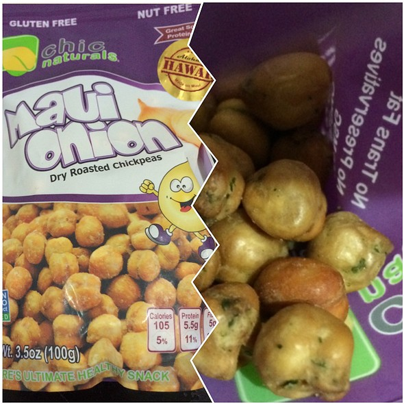 Chic Naturals - Dry Roasted Chickpeas Maui Onion @ Down To Earth All VEGETARIAN Organic & Natural