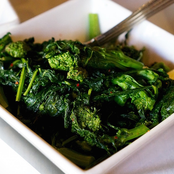 Cime di Rapa – broccoli rabe, chili flake, lemon, olive oil